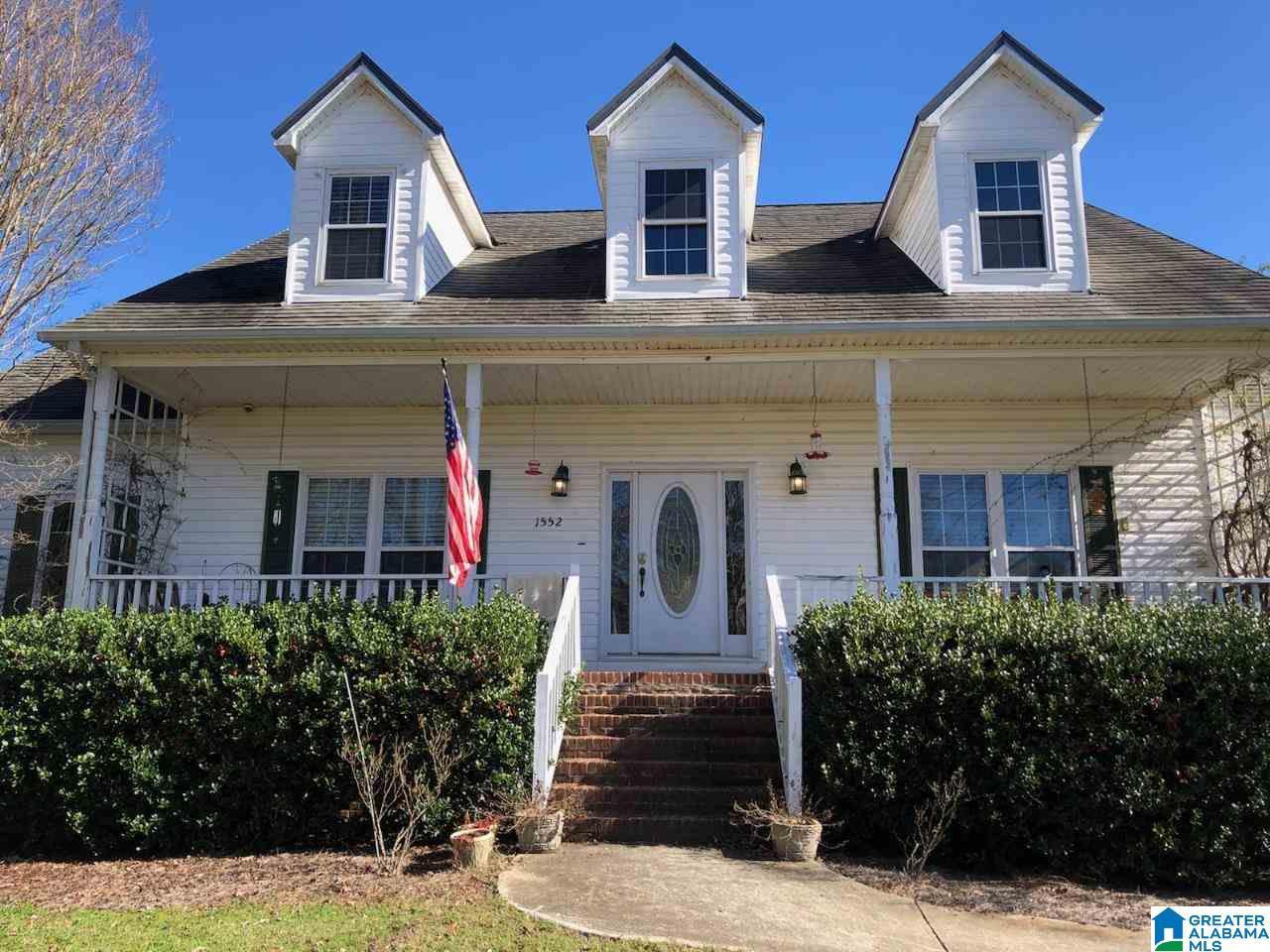 1552 SIMPSON RD, Odenville, AL 35120 - MLS#: 1270541