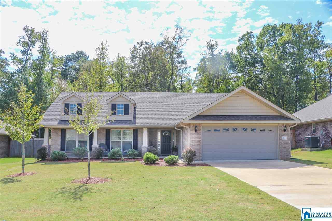 913 BARKLEY DR, Alabaster, AL 35007 - MLS#: 898701