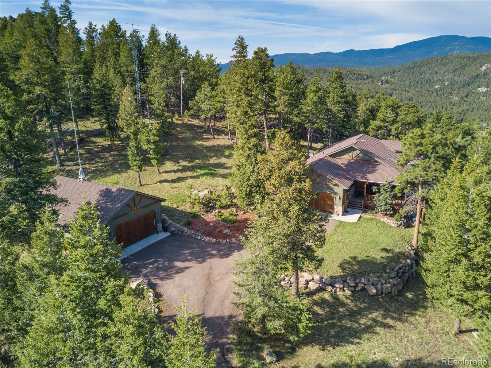 6288 S Skyline Drive, Evergreen, CO 80439 - #: 4989018