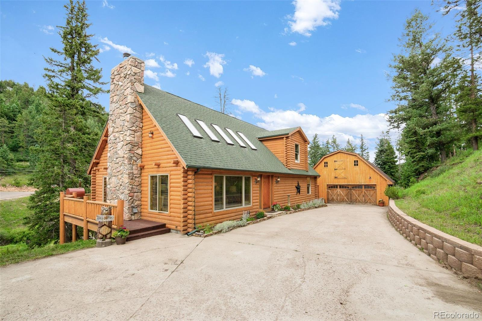 19114 Silver Ranch Road, Conifer, CO 80433 - #: 6467028
