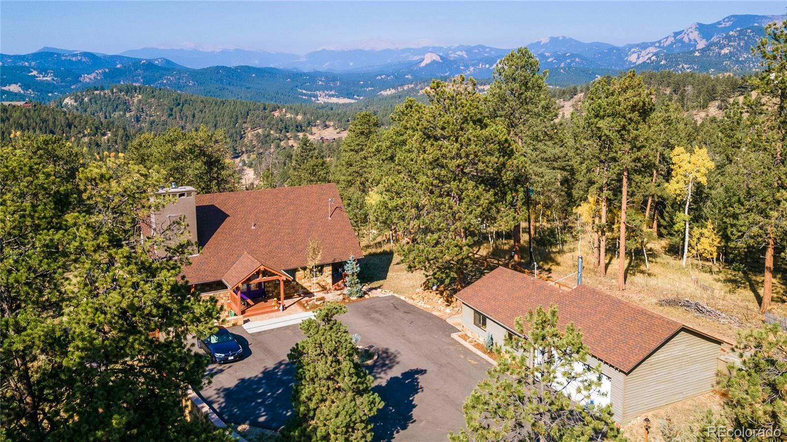 13533 S Wamblee Valley Road, Conifer, CO 80433 - #: 5210033