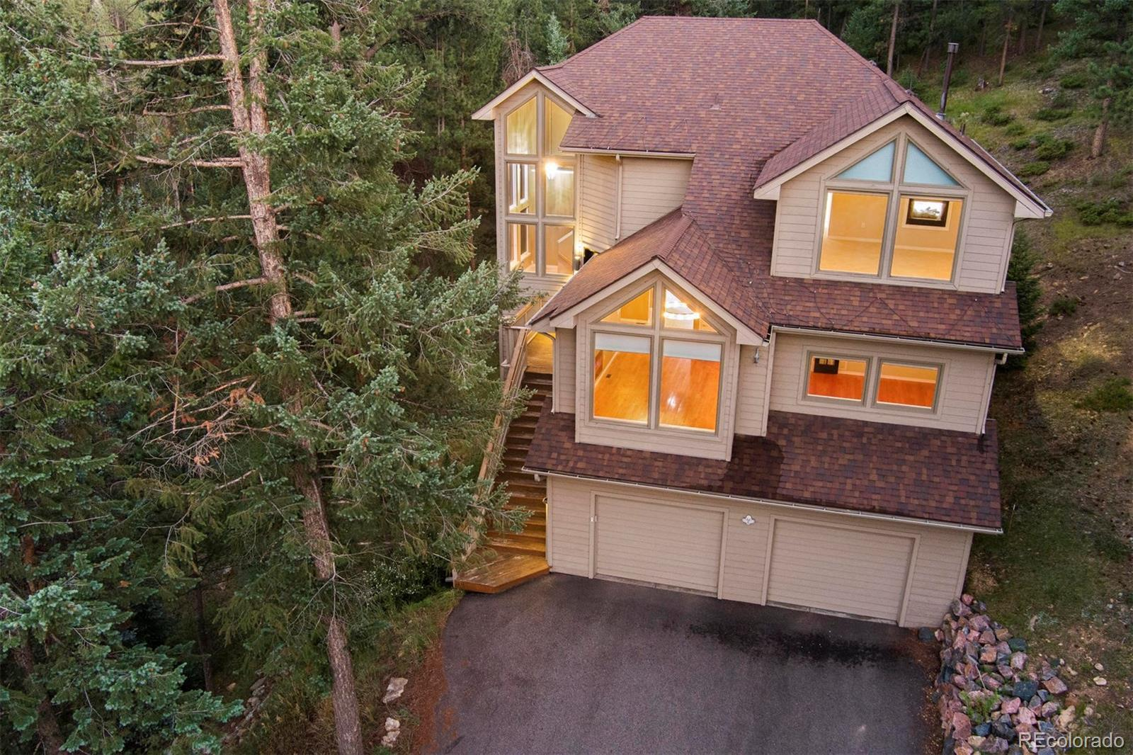 7102 Pinewood Drive, Evergreen, CO 80439 - #: 8718039