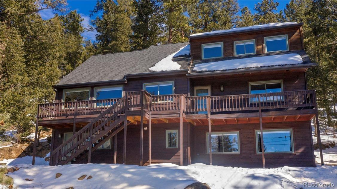 4640 Hilltop Road, Evergreen, CO 80439 - #: 8557040