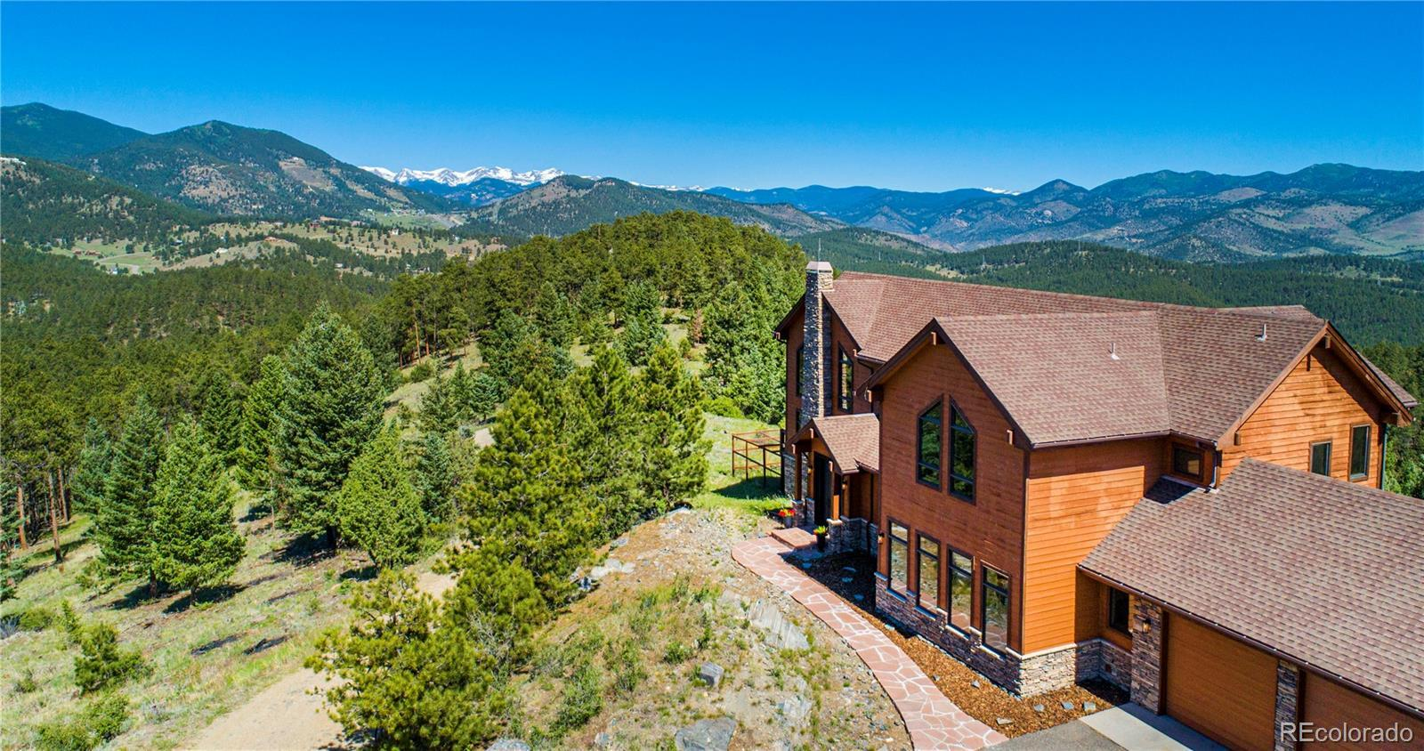 31714 Ruby Ranch Road, Evergreen, CO 80439 - #: 7684043