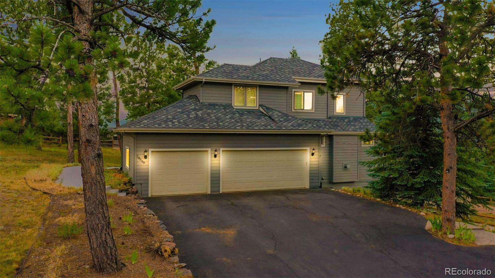 28650 Douglas Park Road, Evergreen, CO 80439 - #: 3604079