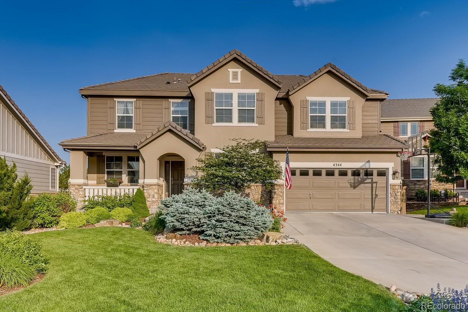 4344 Ivycrest Point, Highlands Ranch, CO 80130 - #: 7459080