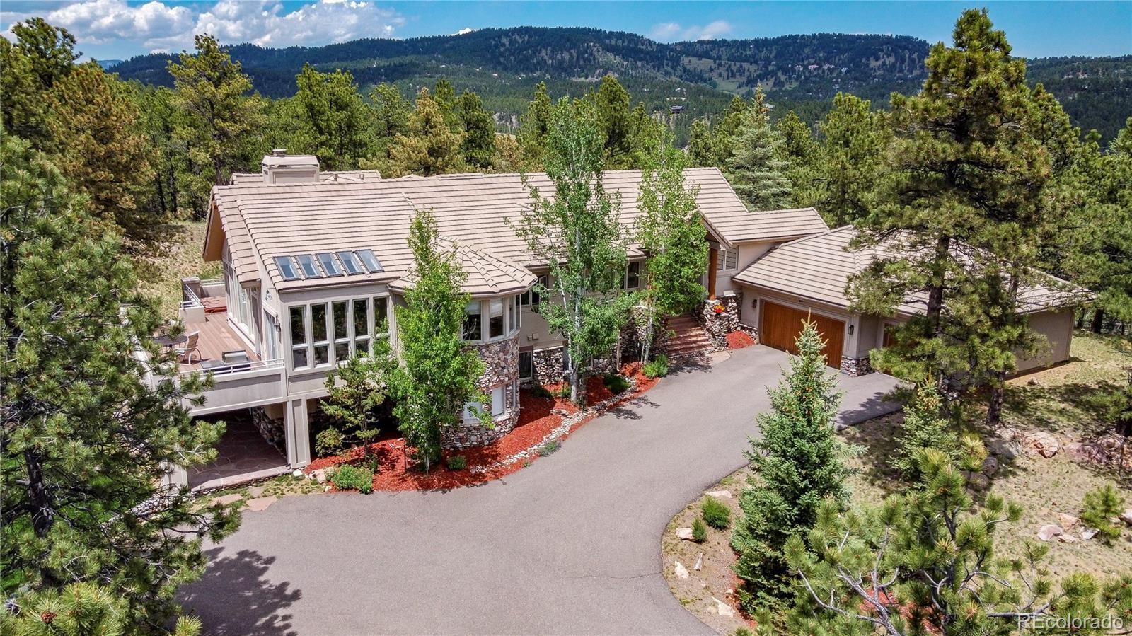 2662 Elk Valley Road, Evergreen, CO 80439 - #: 5278081