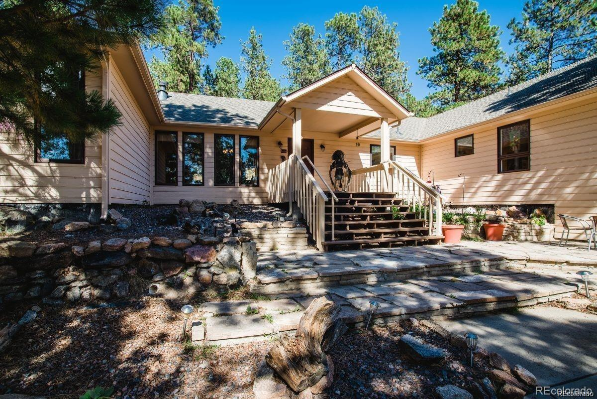 4087 Ponderosa Drive, Evergreen, CO 80439 - #: 3648092