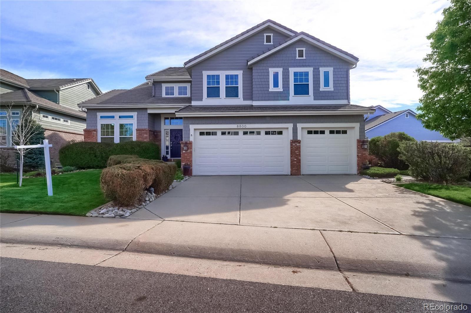 8800 Greensborough Place, Highlands Ranch, CO 80129 - MLS#: 8794096