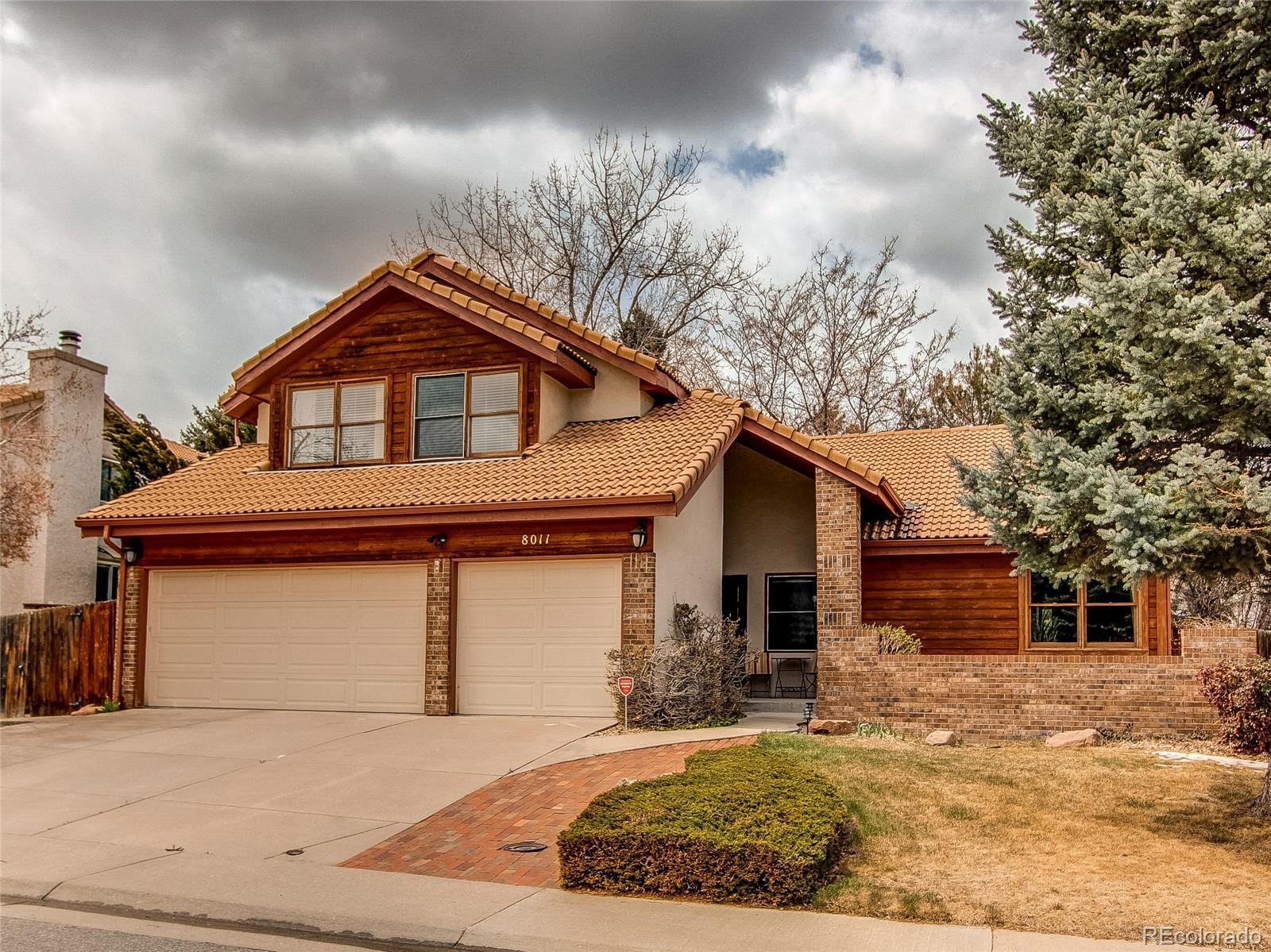 8011 Eagle Feather Way, Lone Tree, CO 80124 - #: 8133101