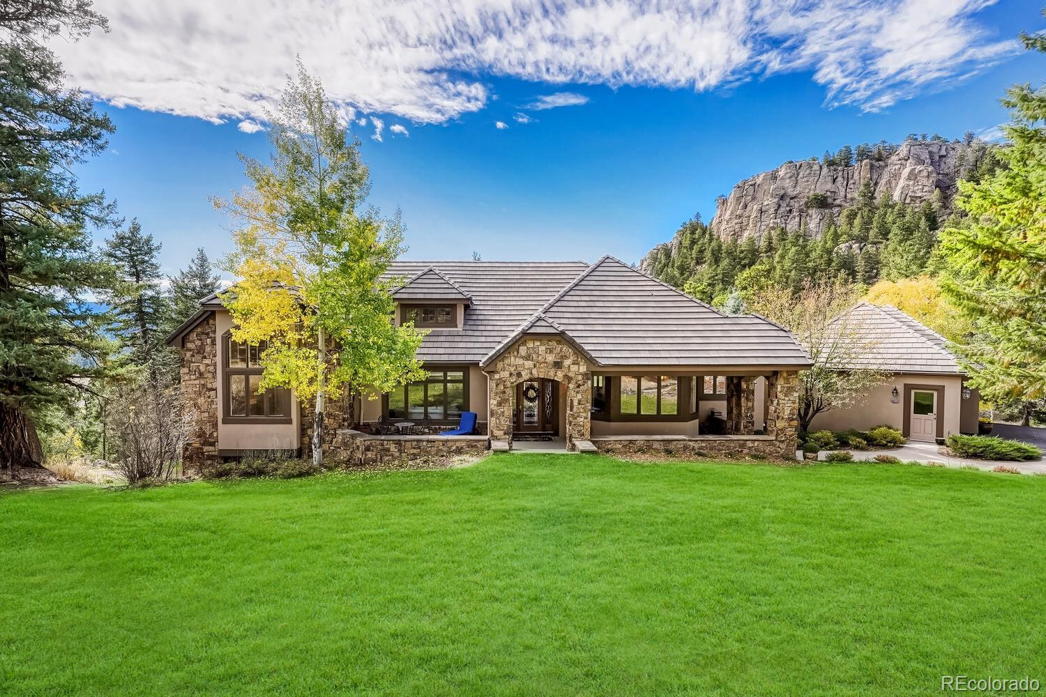 6997 Timbers Drive, Evergreen, CO 80439 - #: 6101103