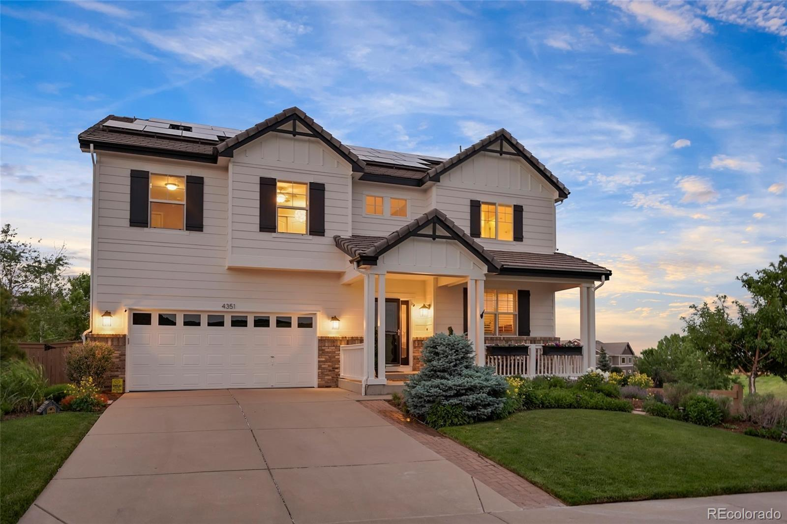4351 Canyonbrook Drive, Highlands Ranch, CO 80130 - #: 1666106