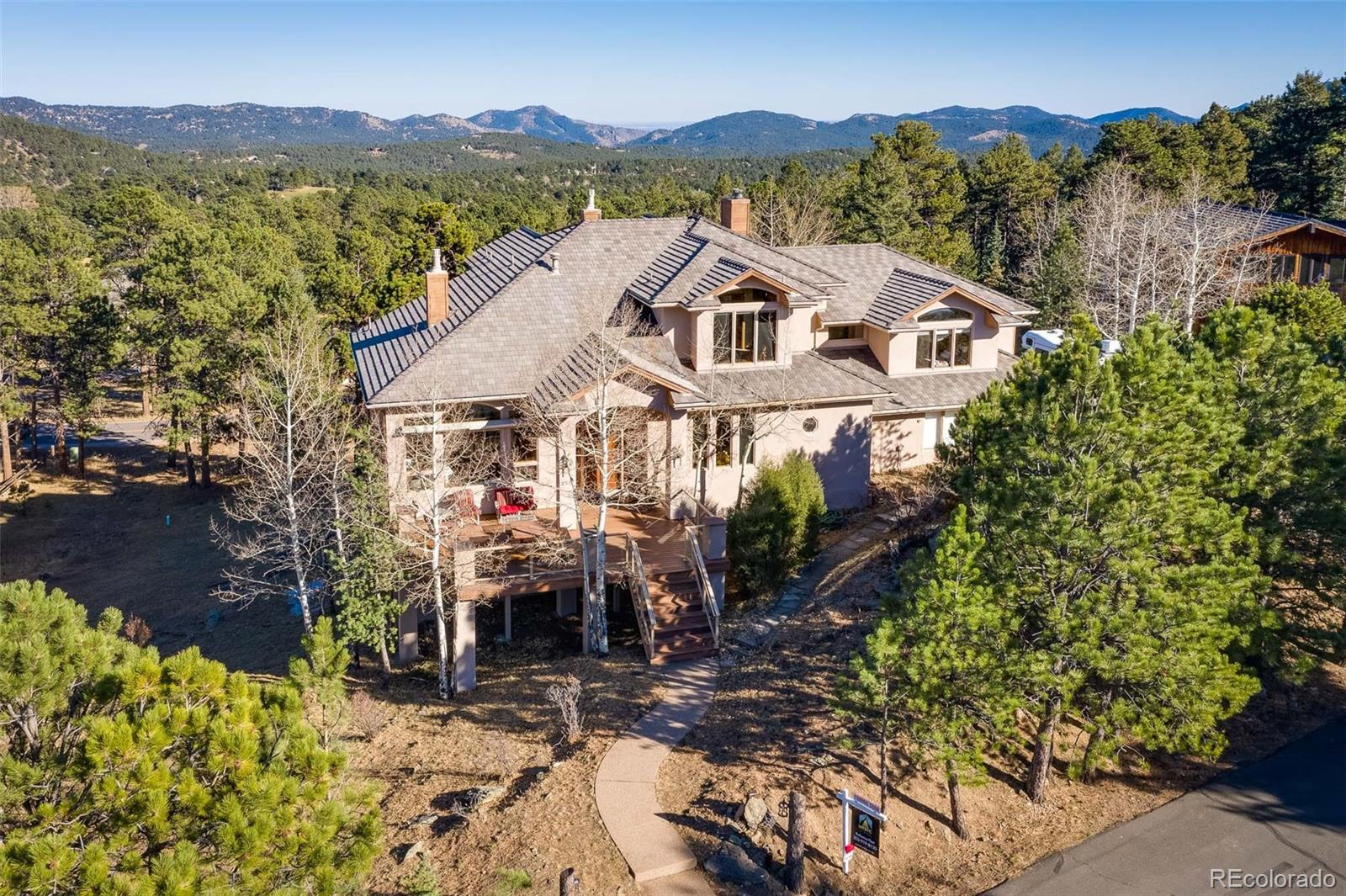 2522 Thunderbird Lane, Evergreen, CO 80439 - #: 6688125
