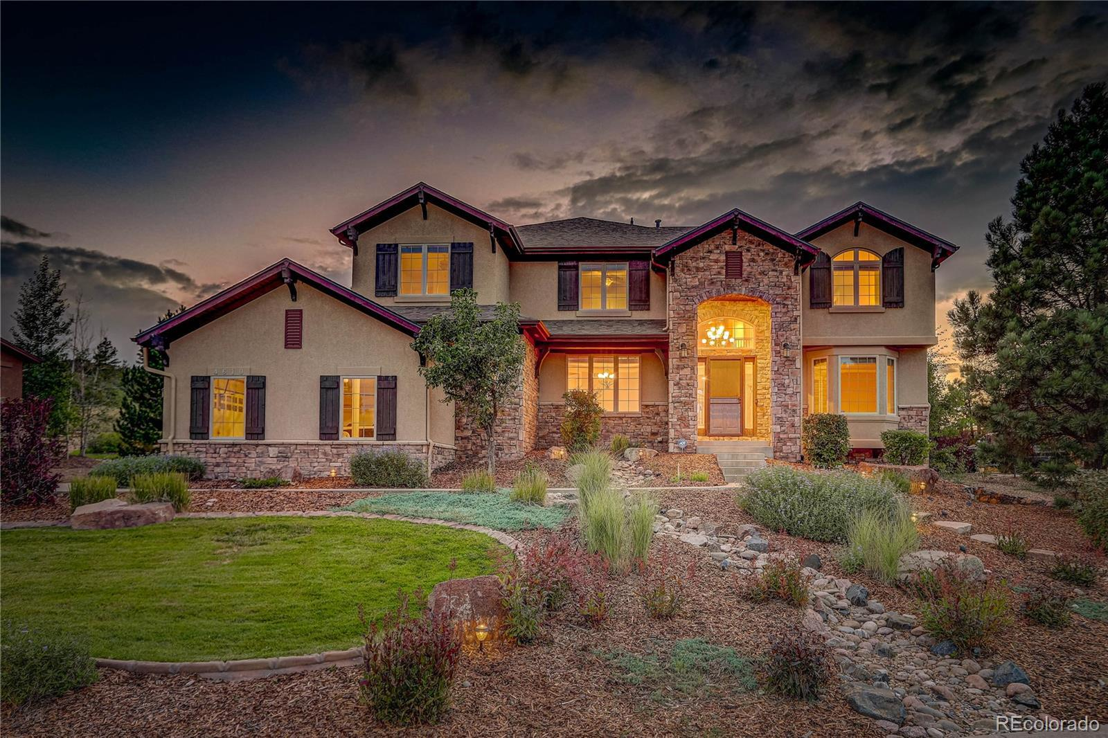4610 Carefree Trail, Parker, CO 80134 - #: 4292176
