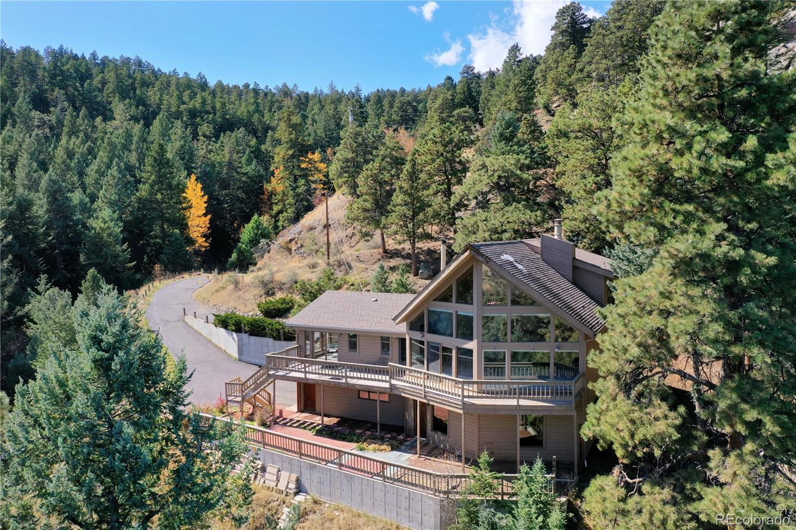 7233 Silverhorn Drive, Evergreen, CO 80439 - #: 4139178
