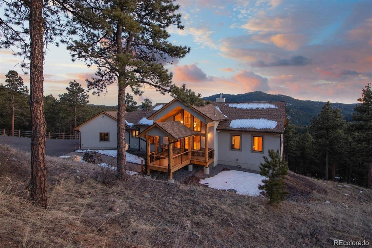 2848 Quartz Ridge Road, Evergreen, CO 80439 - #: 9234200