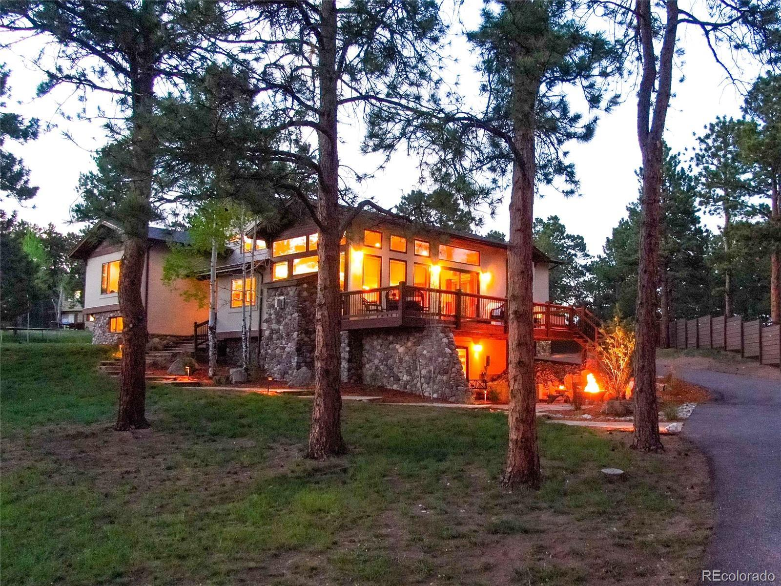 29514 Canterbury Circle, Evergreen, CO 80439 - #: 4100205