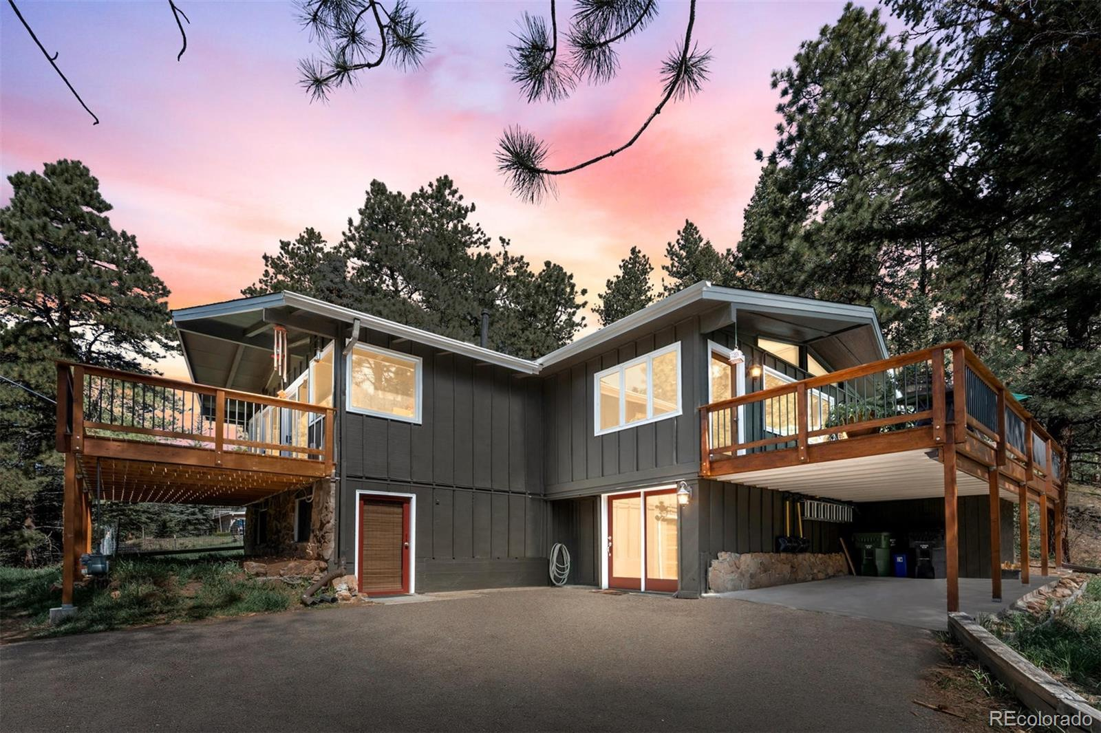 7957 S Brook Forest Road, Evergreen, CO 80439 - #: 7097205