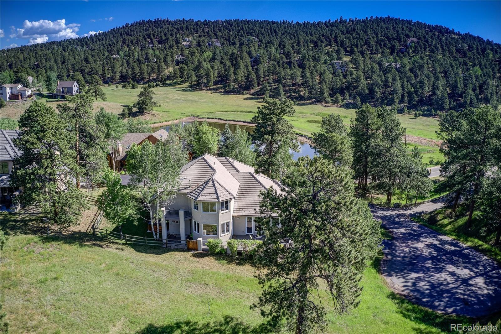 1999 Interlocken Drive, Evergreen, CO 80439 - #: 2174221