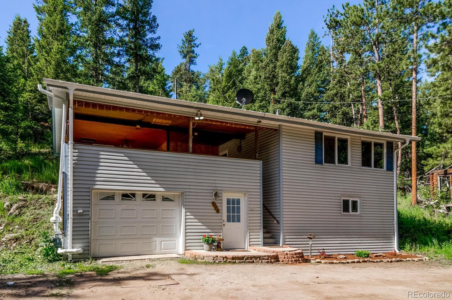 5165  Parmalee Gulch Road, Indian Hills, CO 80454 - #: 7581233
