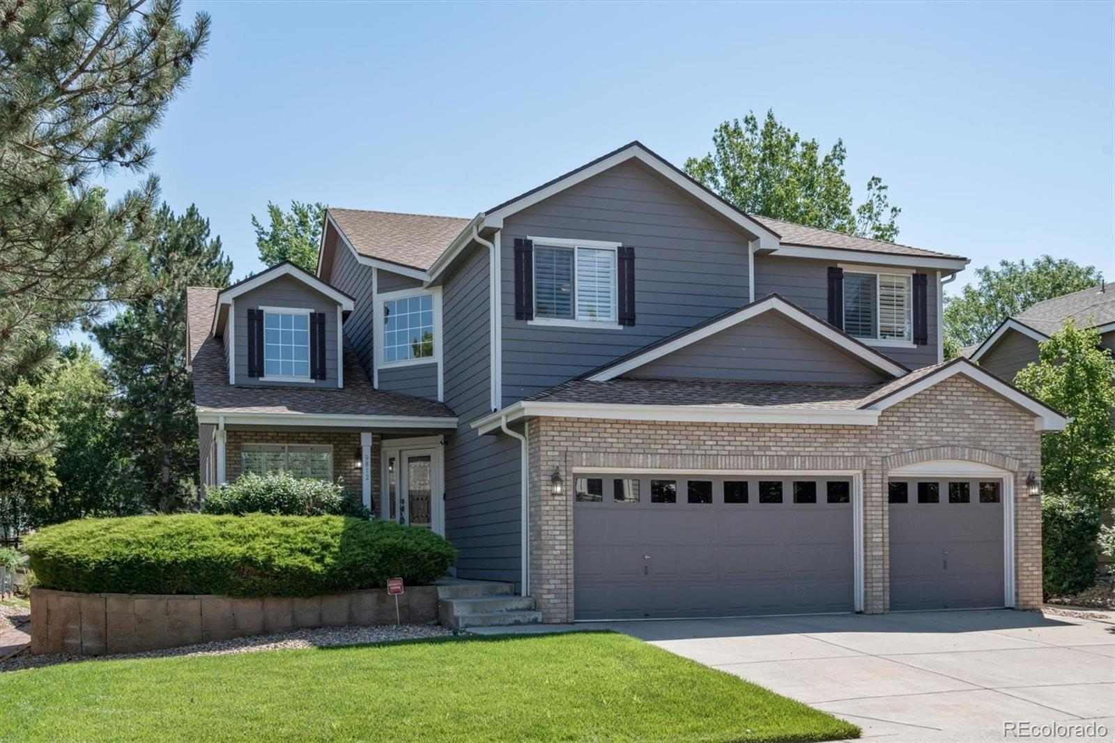 9812 Spring Hill Place, Highlands Ranch, CO 80129 - #: 2821235