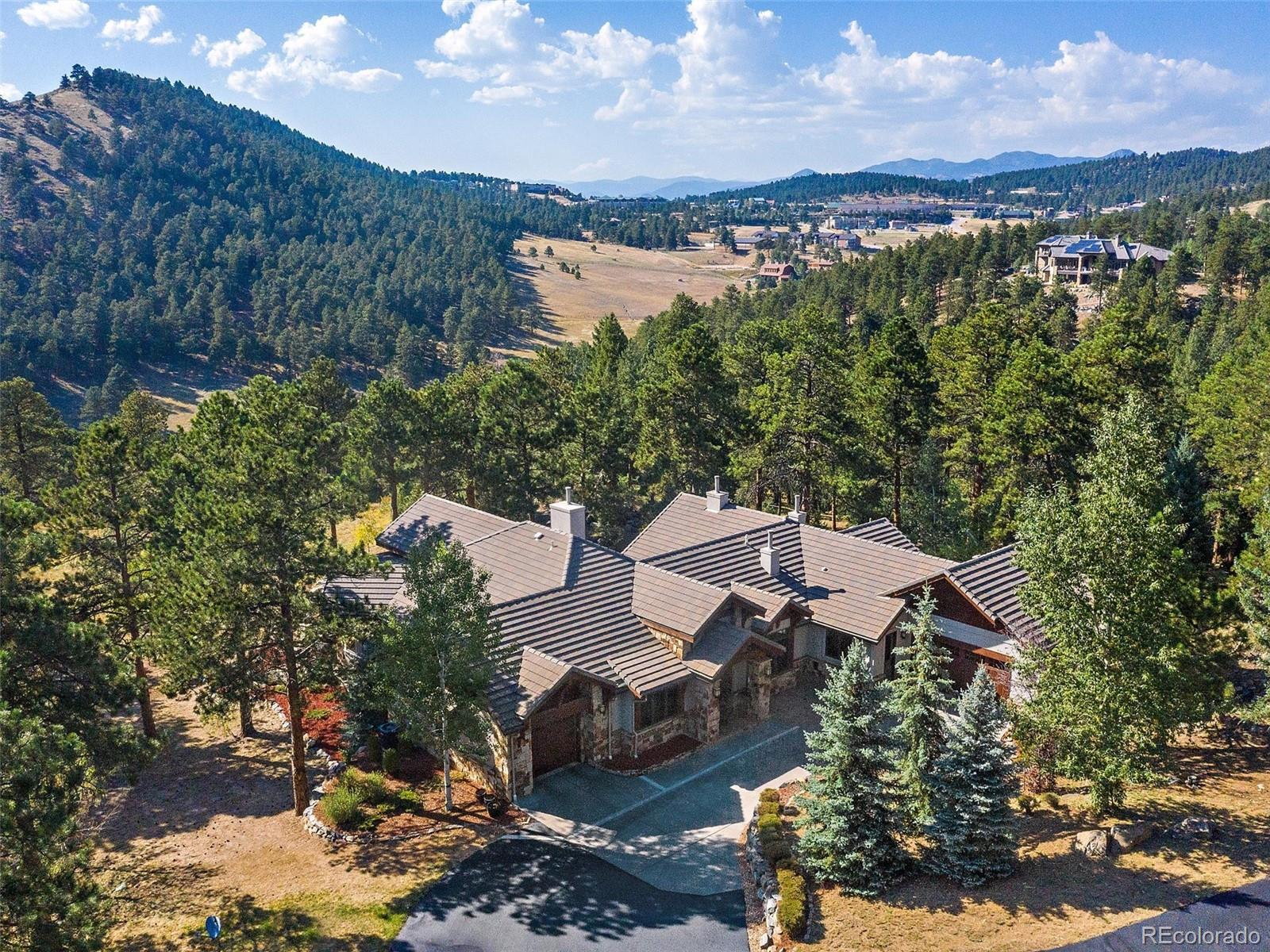 1484 Silver Rock Lane, Evergreen, CO 80439 - #: 8202261