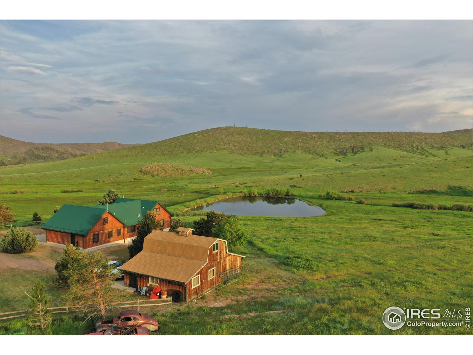 11881 Red Feather Lakes Road, Livermore, CO 80536 - #: IR940262