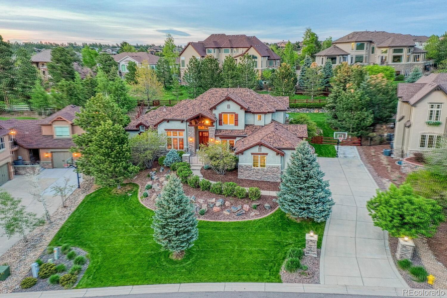 5128 Serene View Way, Parker, CO 80134 - #: 3381264