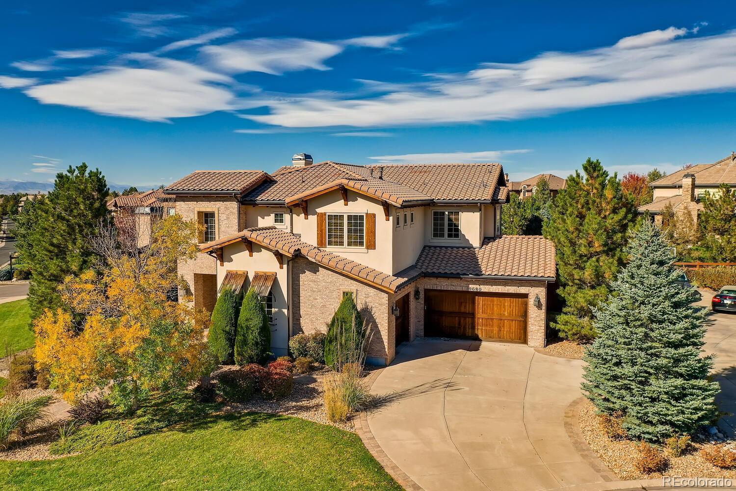 9680 S Shadow Hill Circle, Lone Tree, CO 80124 - #: 8454265