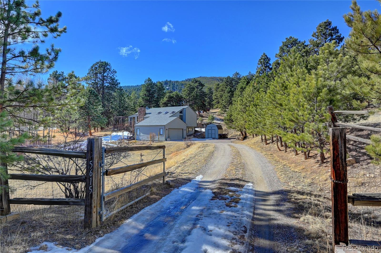 5615 S Hatch Drive, Evergreen, CO 80439 - #: 6716290