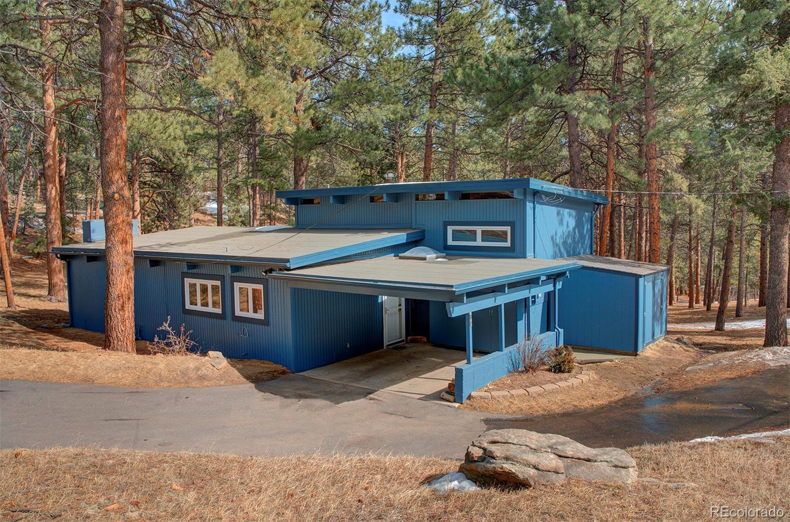 4180 Aspen Lane, Evergreen, CO 80439 - #: 7252292