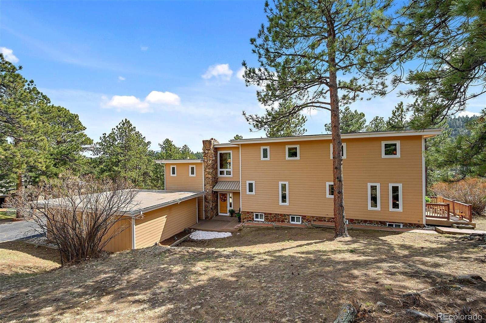 2901 Olympia Lane, Evergreen, CO 80439 - #: 8098295