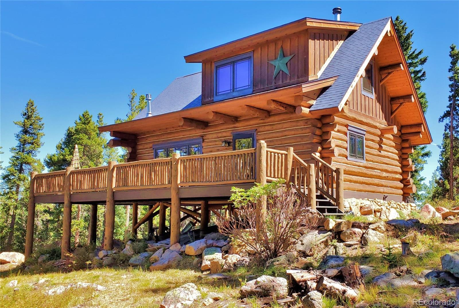 4299 Hidden Wilderness Road, Idaho Springs, CO 80452 - #: 5173342