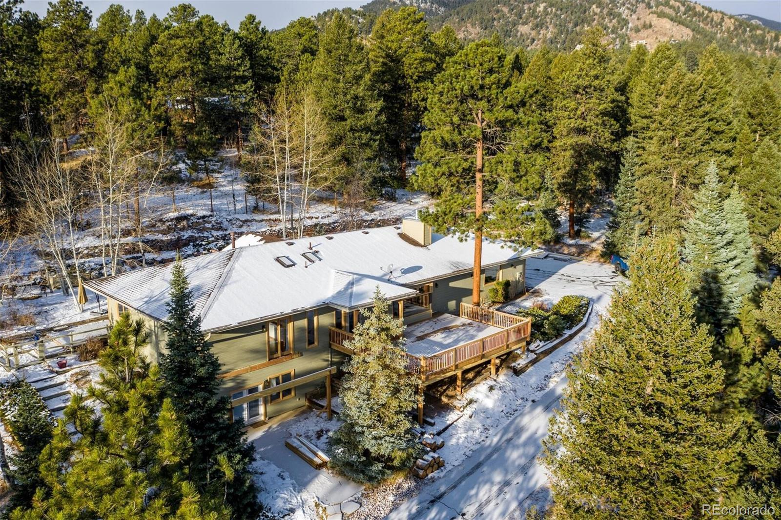675 Witter Gulch Road, Evergreen, CO 80439 - #: 8889347