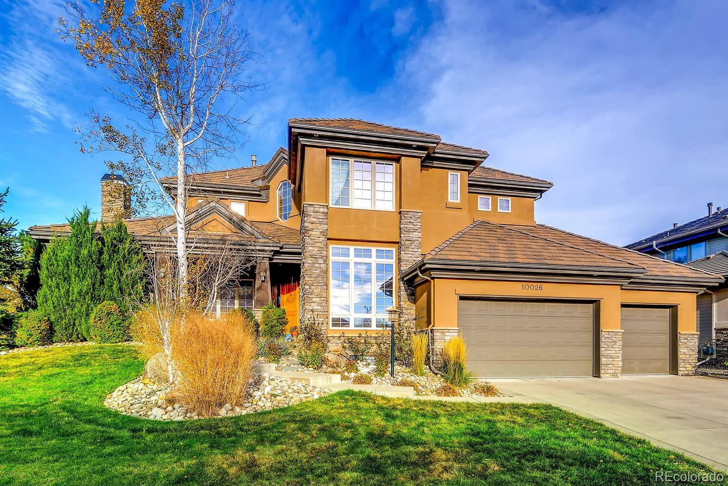 10026 S Shadow Hill Drive, Lone Tree, CO 80124 - #: 8176382