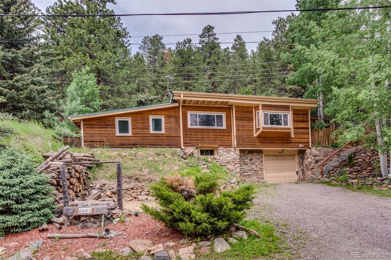 6847 S Brook Forest Road, Evergreen, CO 80439 - #: 3533383