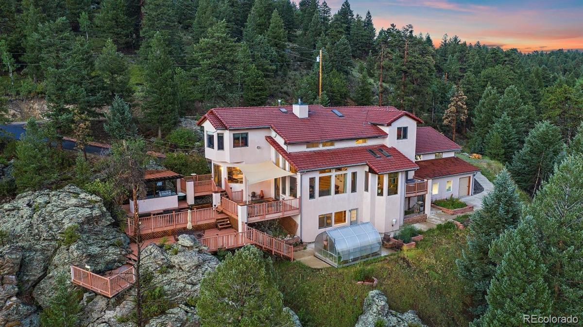 7519 S Frog Hollow Lane, Evergreen, CO 80439 - #: 5965396