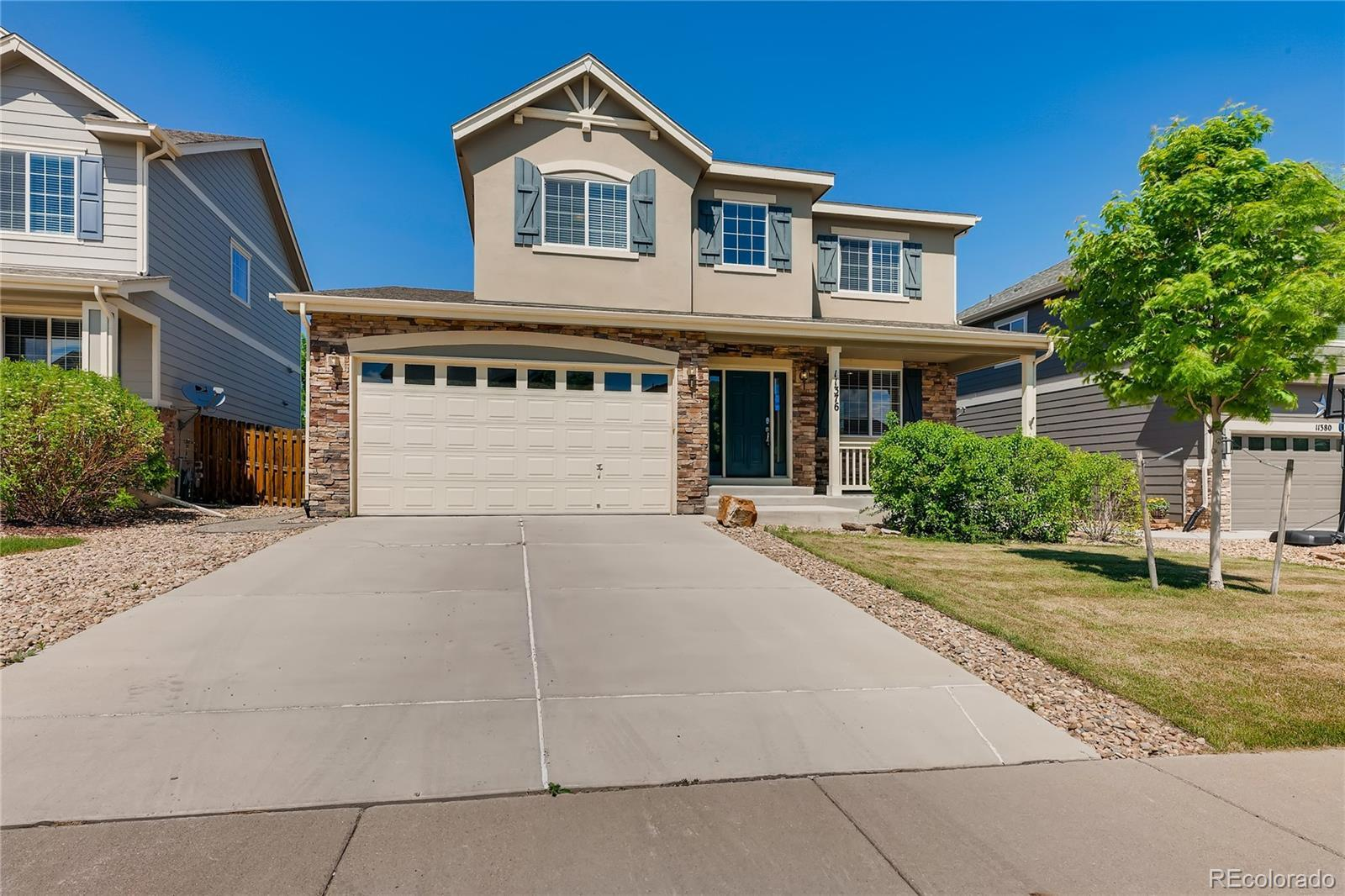 11376 S Trailmaster Circle, Parker, CO 80134 - #: 6159400