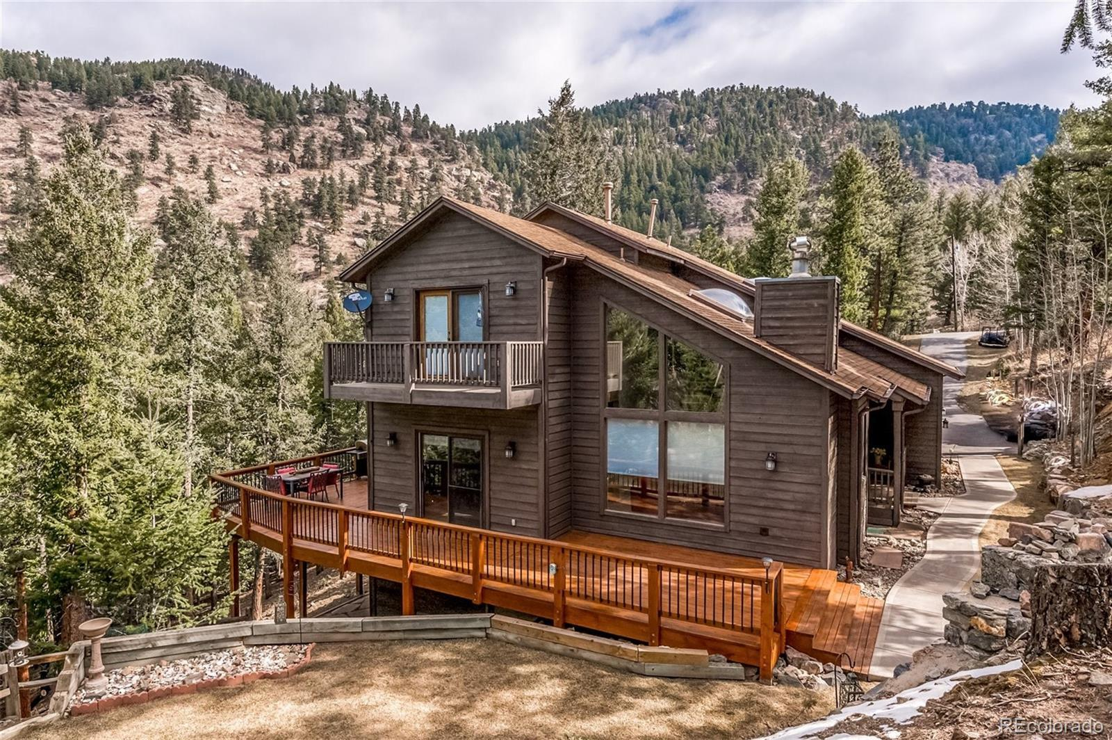 654 Stagecoach Boulevard, Evergreen, CO 80439 - #: 2607413