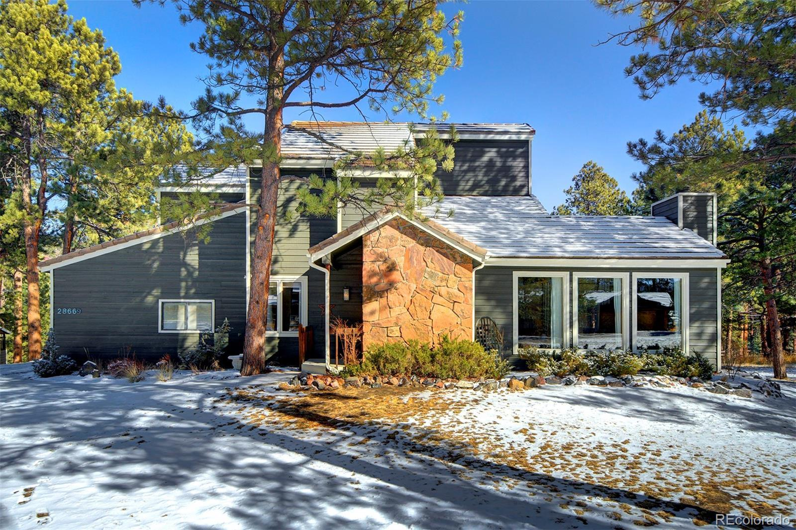 28669 Douglas Park Road, Evergreen, CO 80439 - #: 4424427