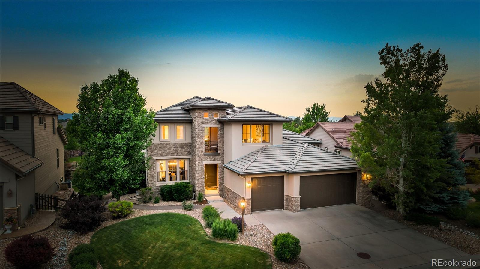 9645 Sunset Hill Drive, Lone Tree, CO 80124 - #: 7424433