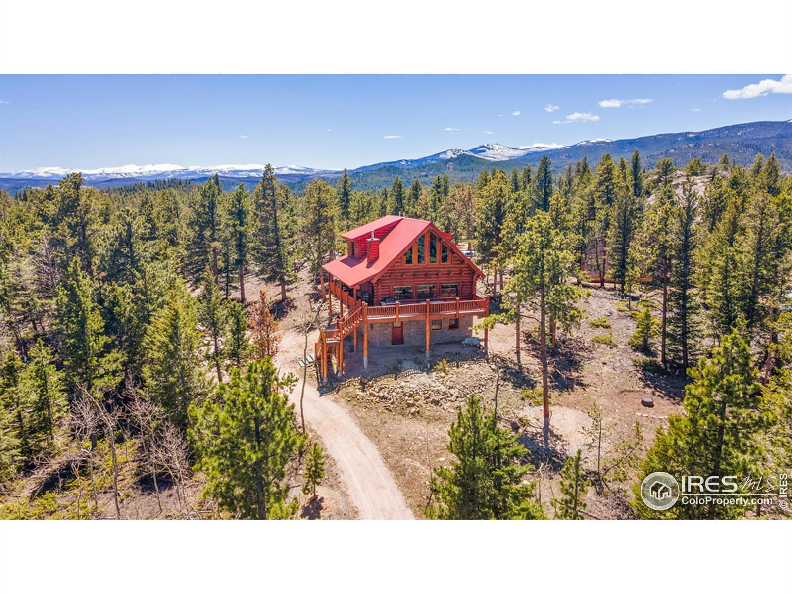 578 Socorro Trail, Red Feather Lakes, CO 80545 - #: IR941447