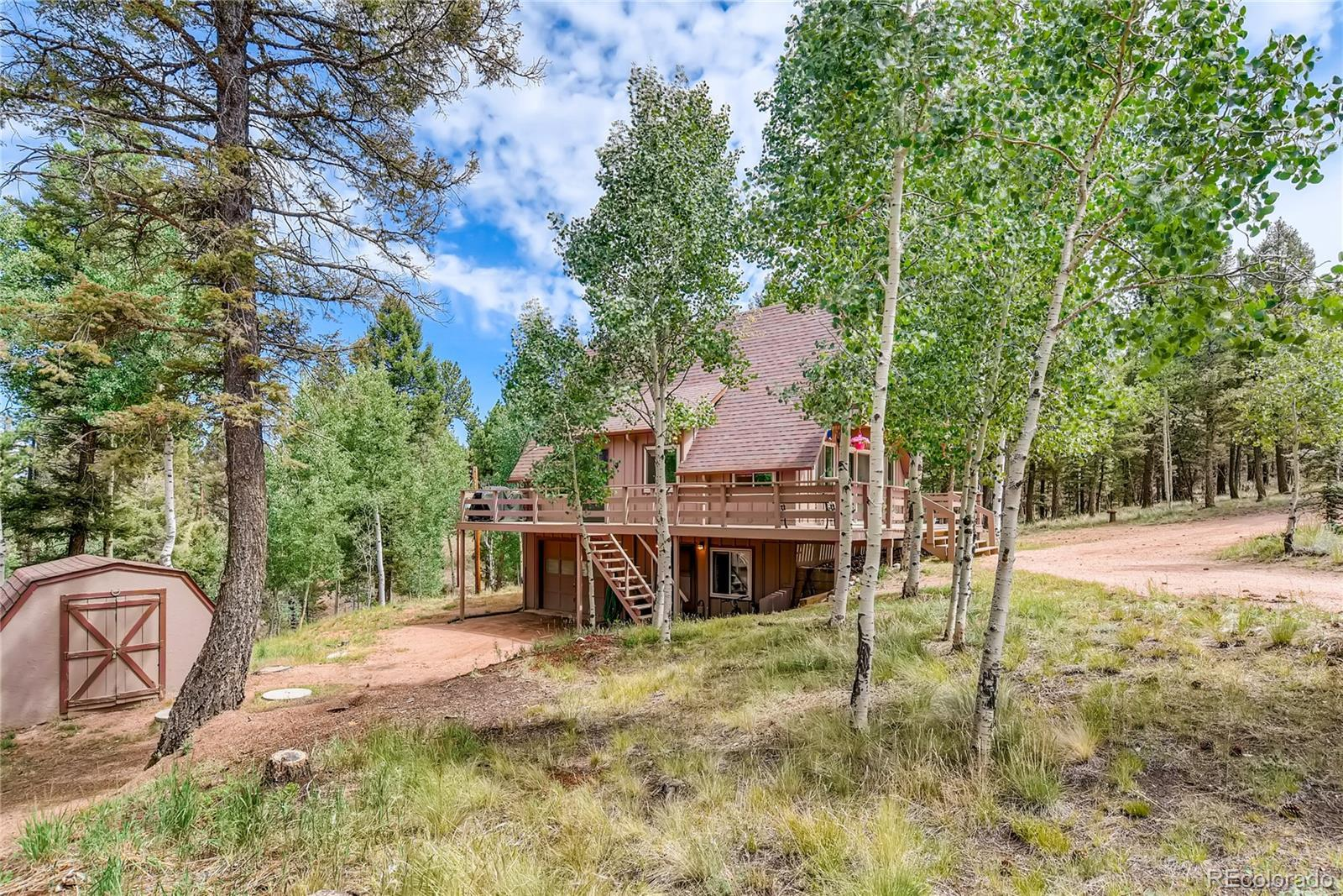 761 Pinewood Road, Florissant, CO 80816 - #: 4077450