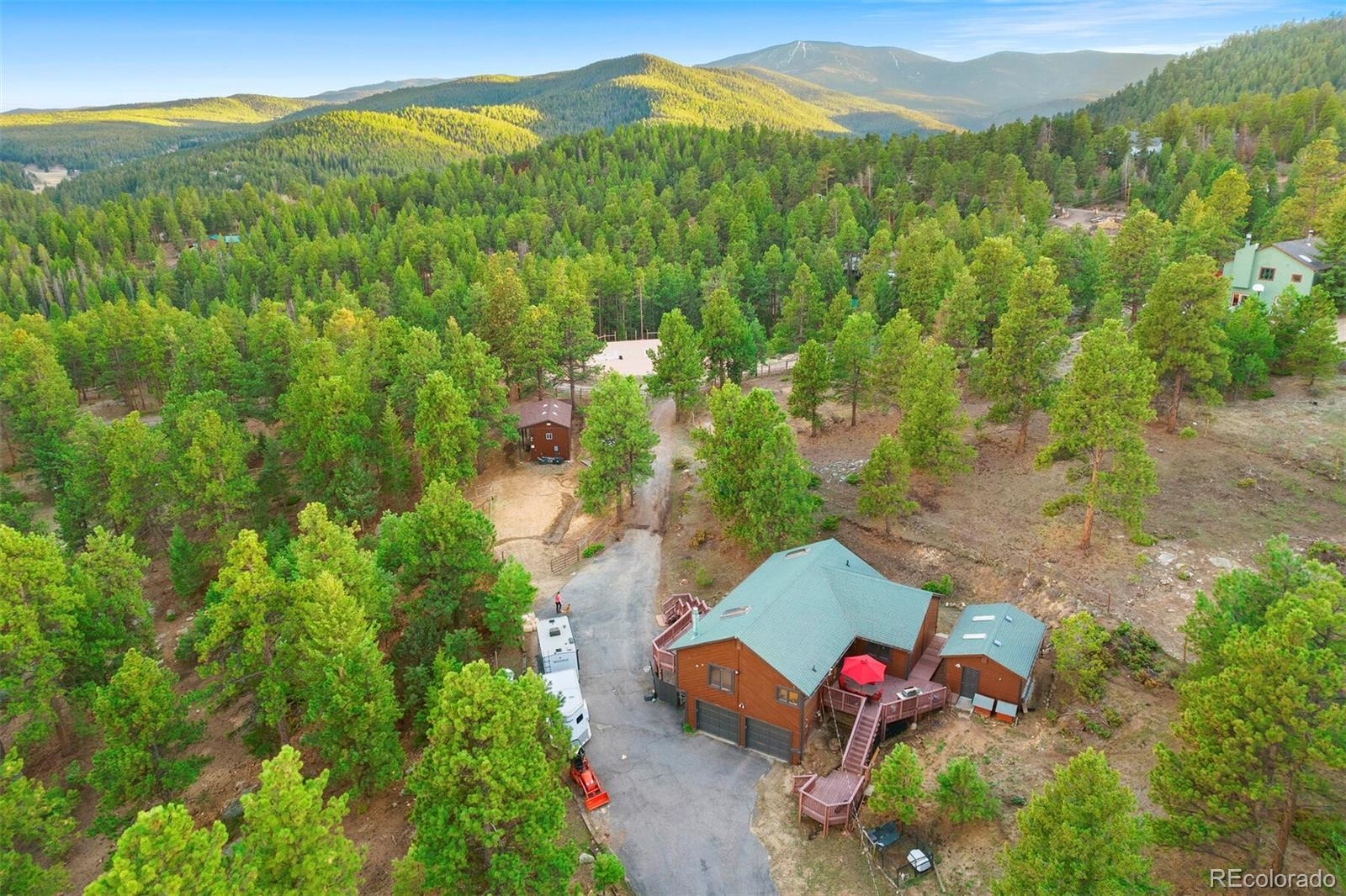 6525 Joan Lane, Evergreen, CO 80439 - #: 5244458