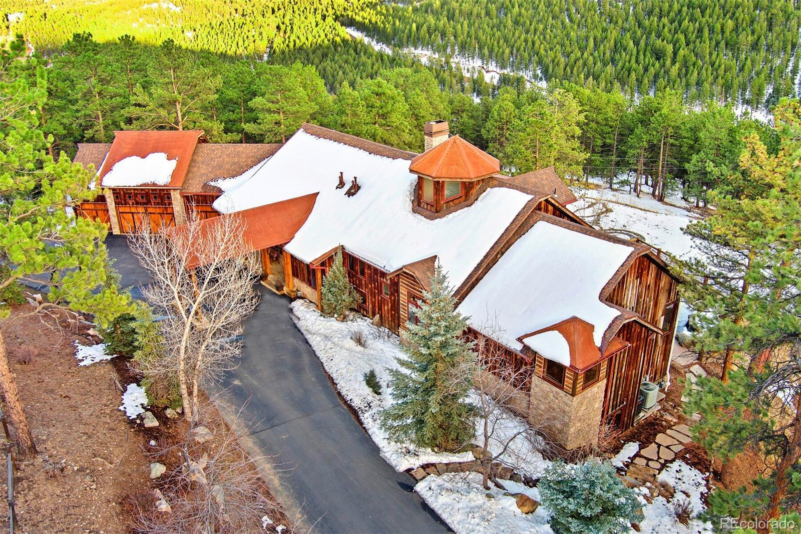 34256 Ranchero Road, Evergreen, CO 80439 - #: 5439463