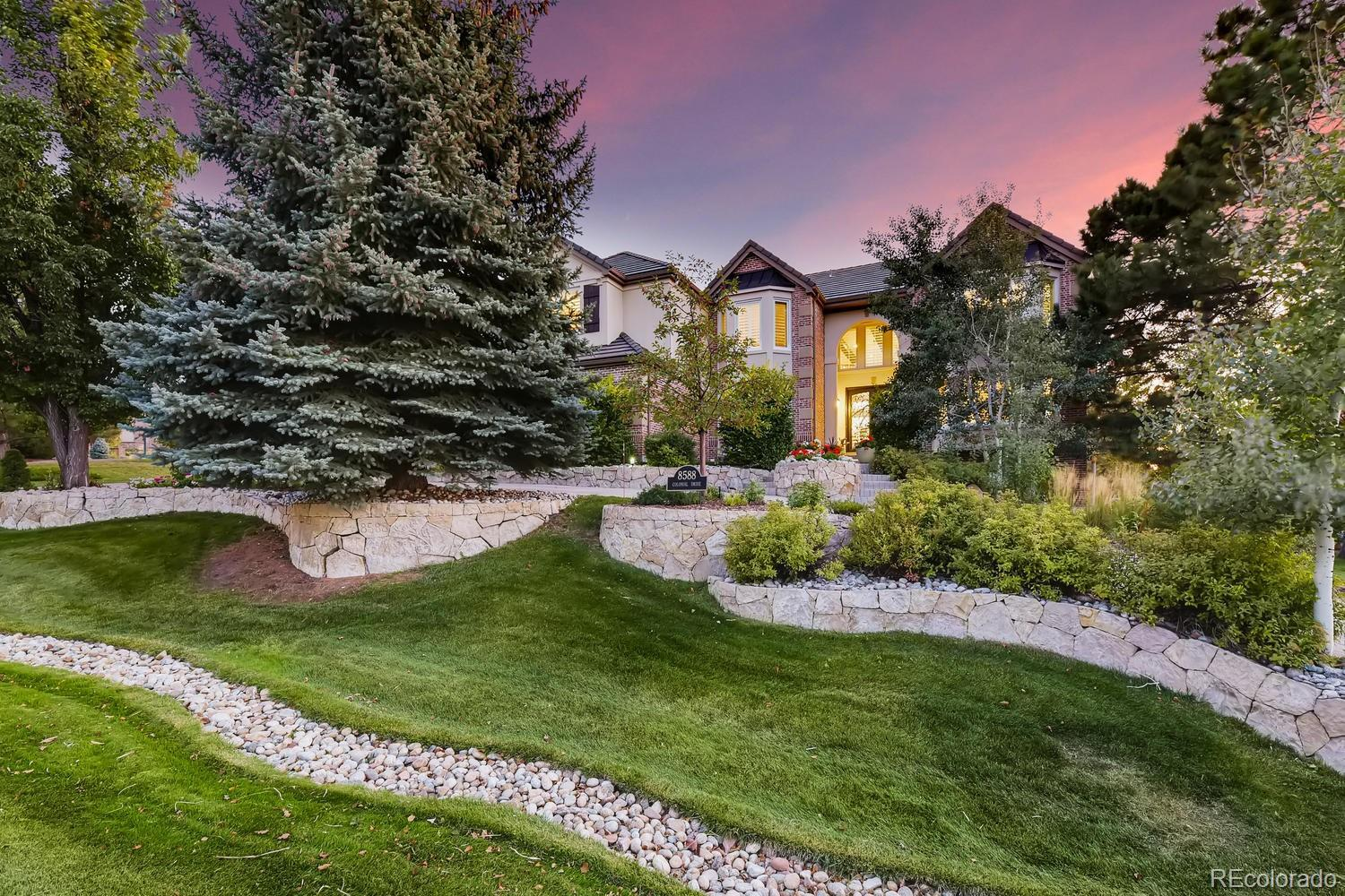 8588 Colonial Drive, Lone Tree, CO 80124 - #: 3926479