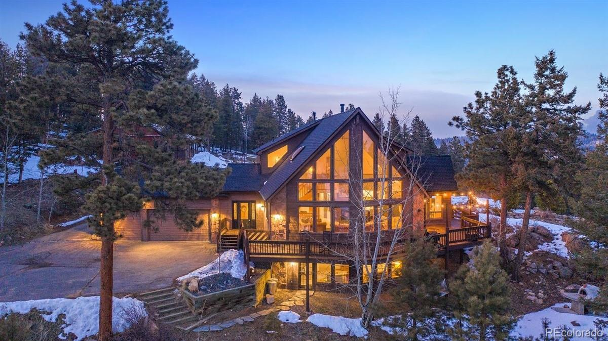 12954 S Ridge Road, Conifer, CO 80433 - #: 7360496