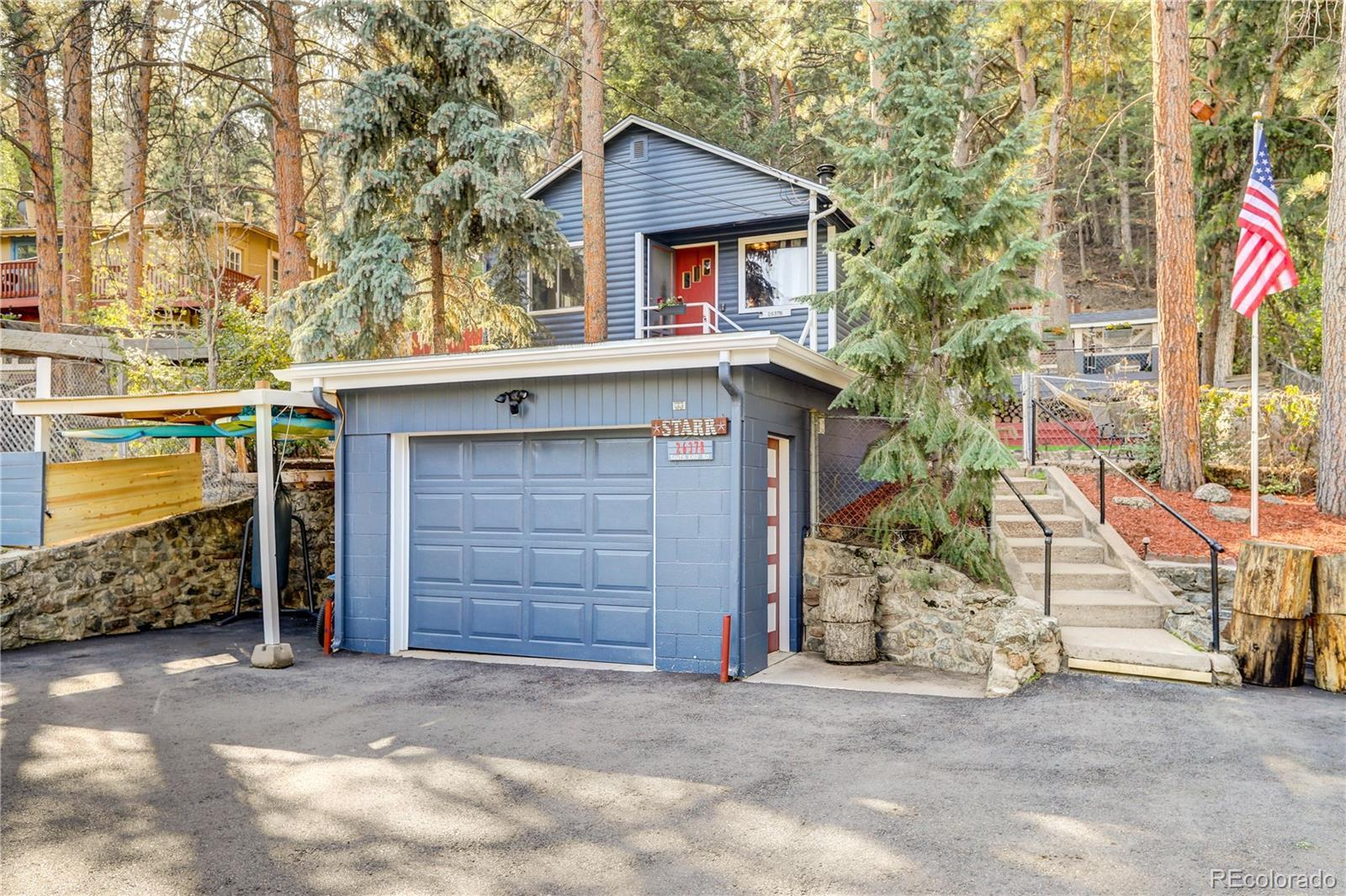 26378 South End Road, Kittredge, CO 80457 - #: 7582502