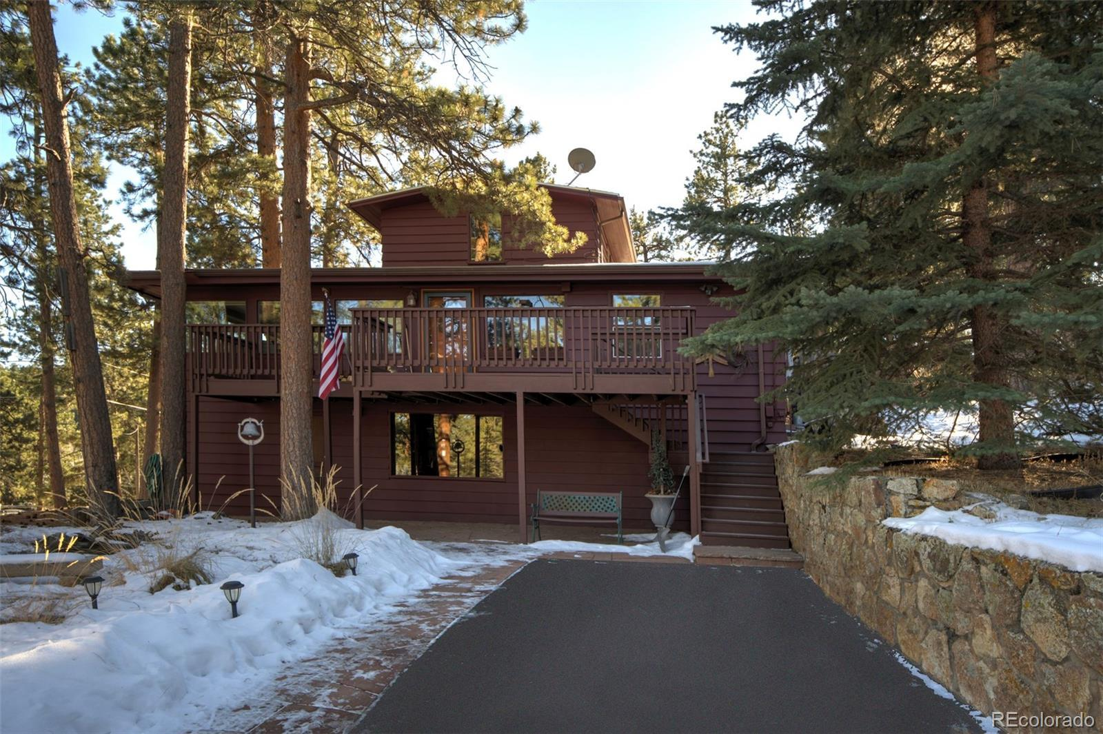 4833 S Cedar Road, Evergreen, CO 80439 - #: 5609520