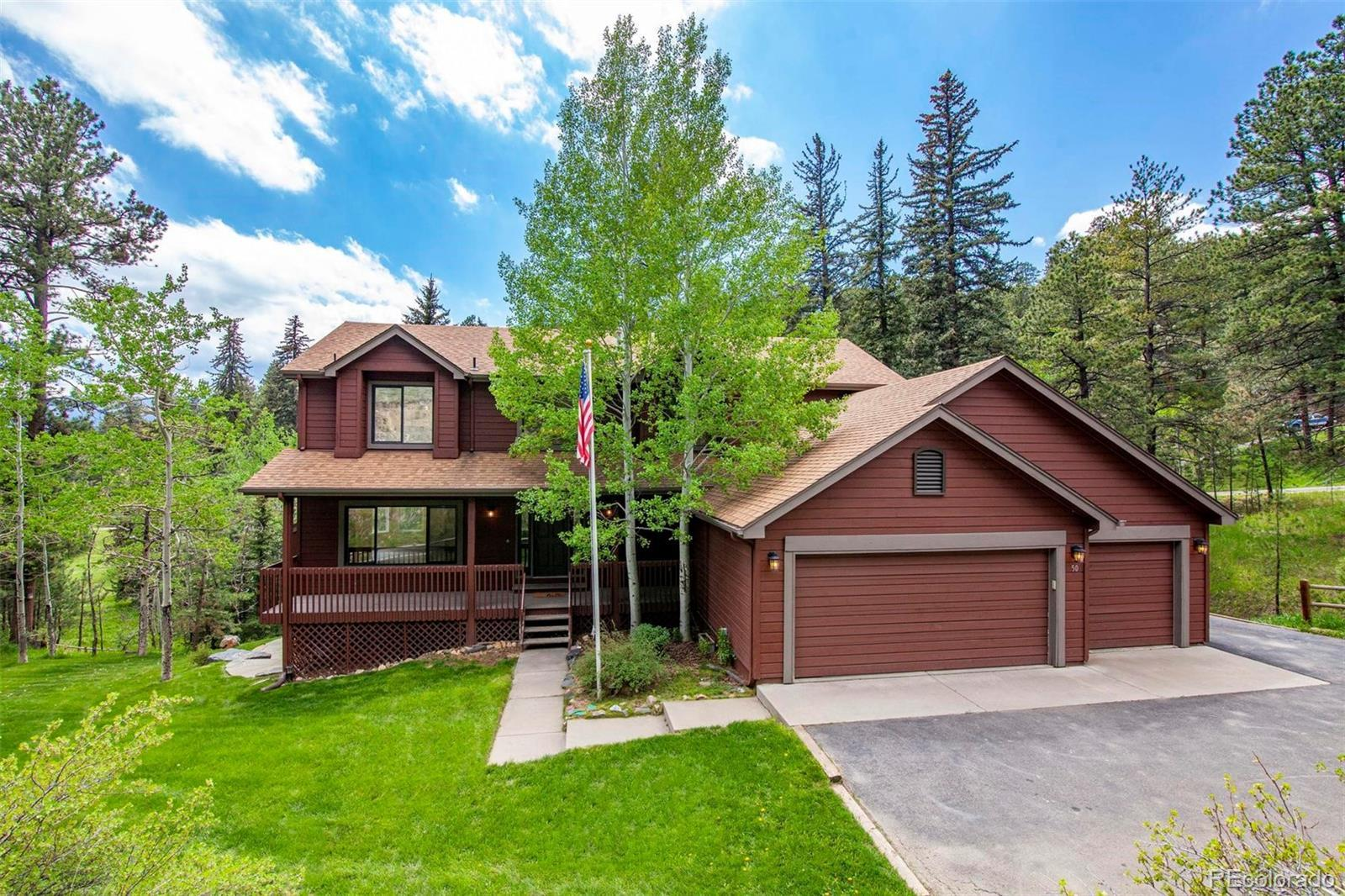 50 Conifer Drive, Evergreen, CO 80439 - #: 5368533